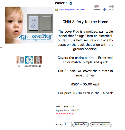 chelseasroom.com product page