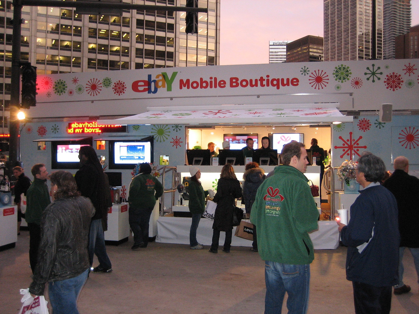 Front of eBay Mobile Boutique