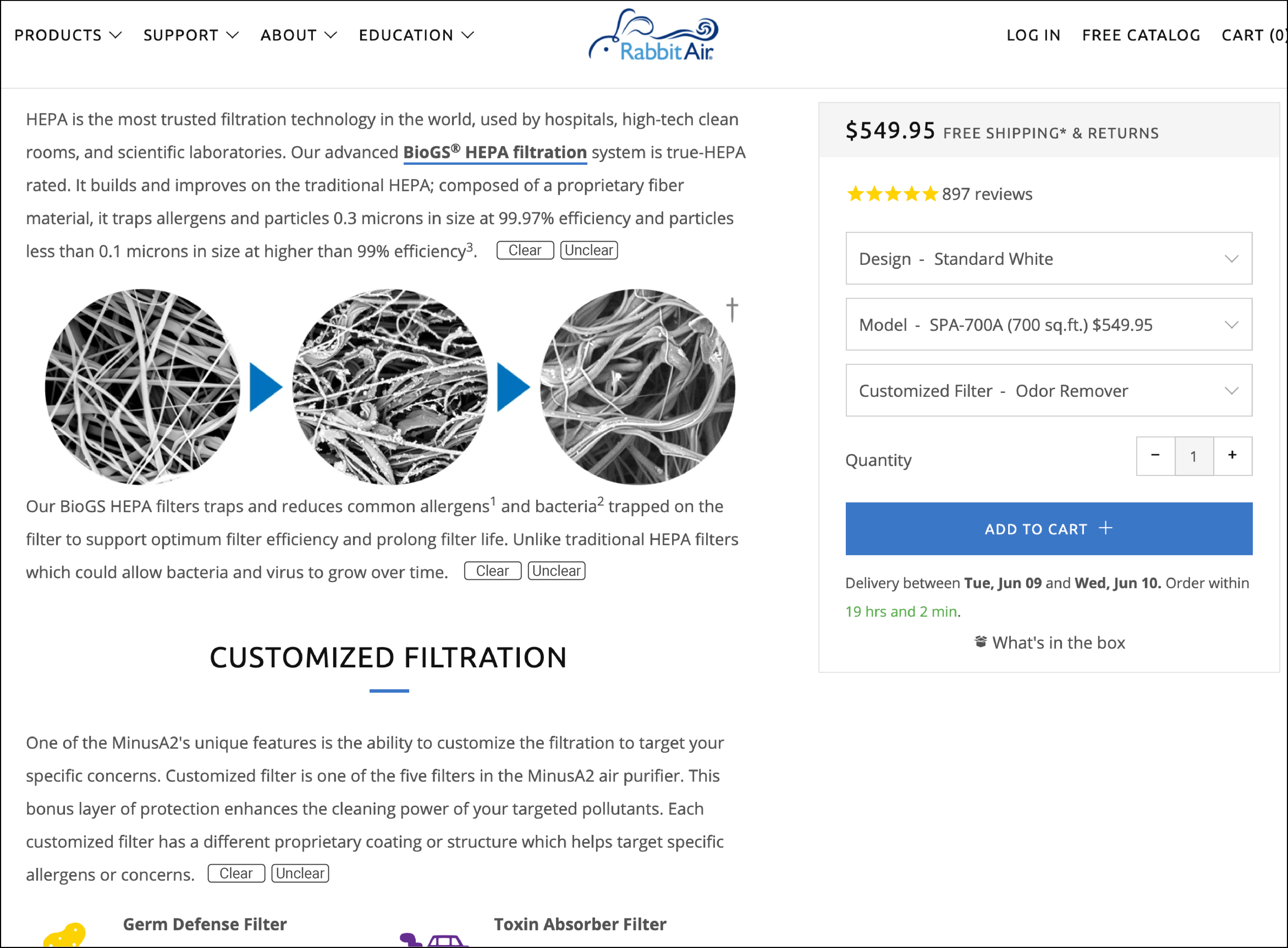 Unique product page design idea. We're constantly looking for an edge on product pages. This is a totally new product page design concept. It'll radically improve your conversion rates.